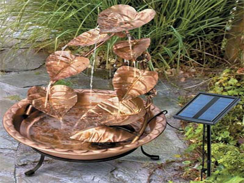 Small Patio Water Fountains Powered Water Fountain For Small