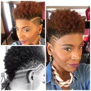 shaved tapered style twa