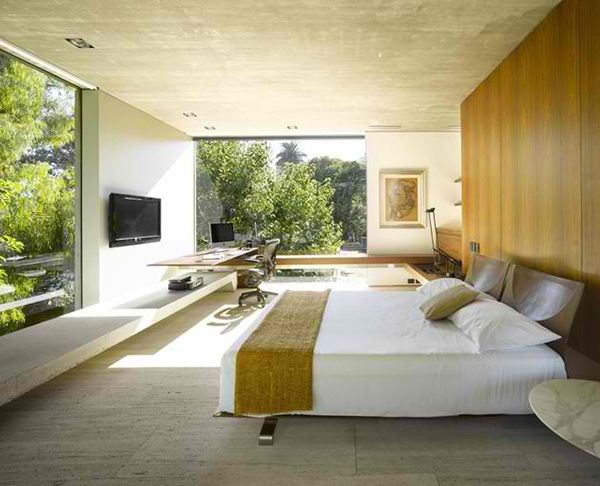Inside Outside Home Design By South American Architect Concrete