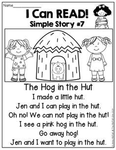 I Can Read Simple Stories! Fun little stories that kids