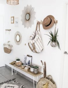 Decorar entrada recibidor estilo nordico decoracion nordica interiorismo barcelona boho chicdecor ideashome also rh pinterest