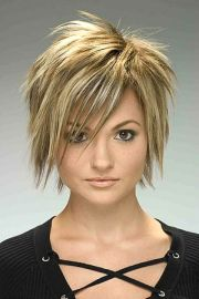 fun short hairstyles funky
