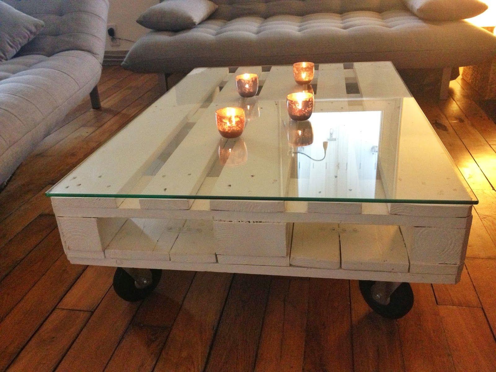 Comment Faire Une Table Basse Avec Palette En Bois Ld