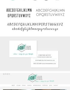 Colour interior exterior design company logo branding business card and website also want to add some sweetness your life interiordesign restaraunt rh pinterest