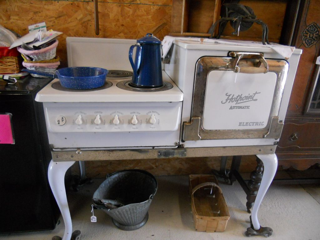 antique kitchen appliances brushed nickel faucet hot point electric stove in caraways treasures