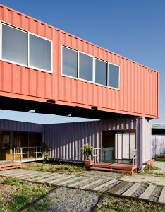Gallery of muebles gacitua dx arquitectos also shipping container rh pinterest