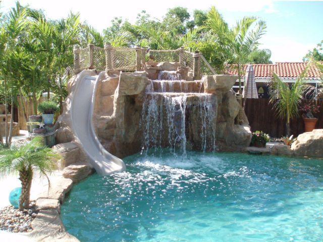 Image Detail For -Swimming Pool Waterfalls