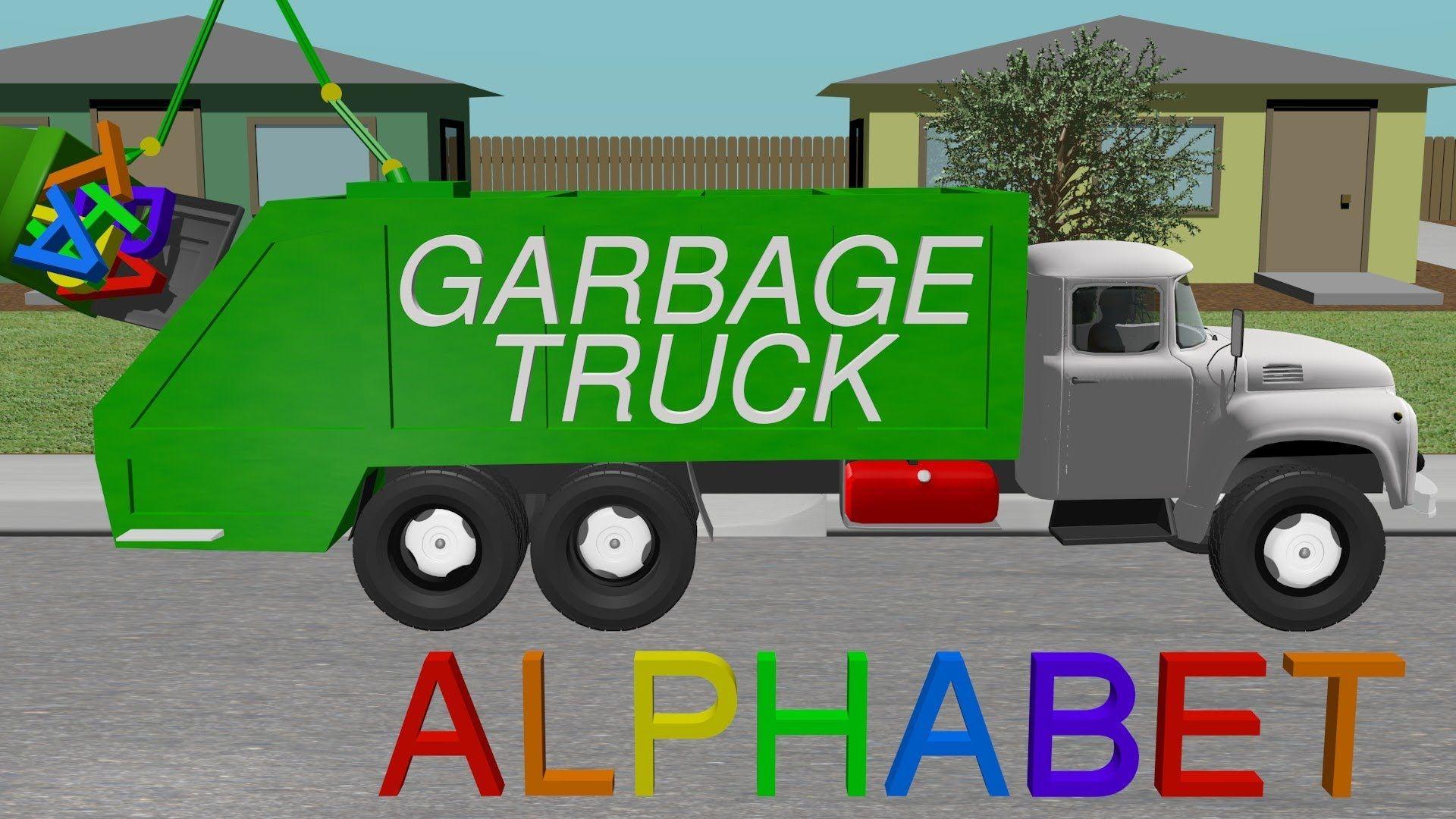 Alphabet Garbage Truck