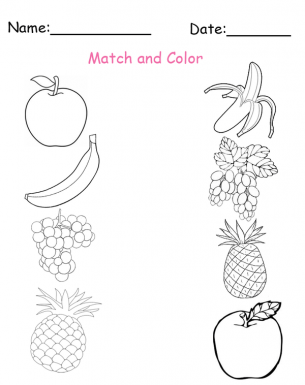 Match and color printable worksheet http://buff.ly