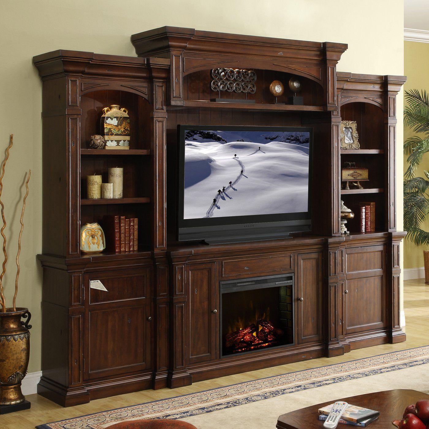 Legends Furniture 4 piece Berkshire Fireplace