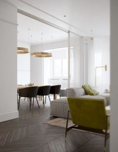 This refined two bedroom apartment is the work of design team vishnyakov  pokrovsky also rh pinterest