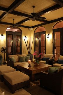 Tuscan Style Lighting Interior Design