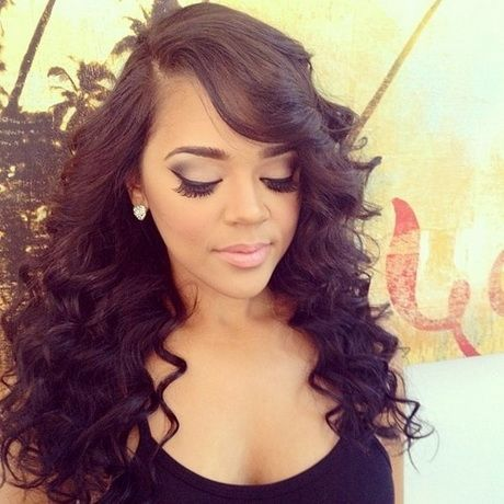 black sew in hairstyles hair pinterest hair style weave styles and hair weaves