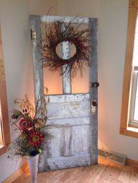 Antique Wooden Door Decorating Ideas ...