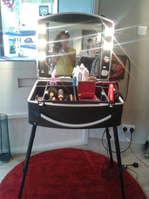 Hairdressing kit Mobile hairdressing case  Mobile