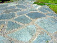 pea gravel and flagstone landscape designs - Google Search ...