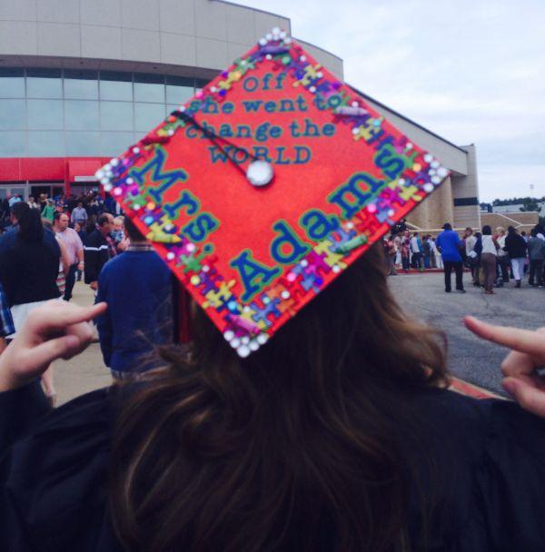 Decorated Graduation Cap - Teacher Special Education