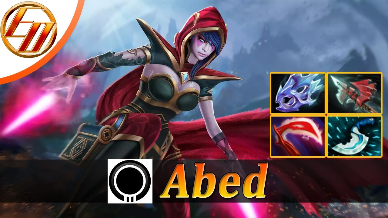 Abed Templar Assassin Dota 2 Pro Gameplay TA Fullgame