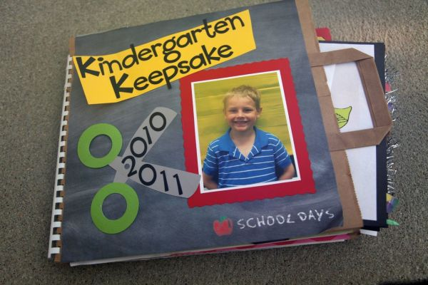 Kindergarten Memory Book Keepsake
