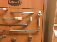 Schrock Cabinetry hardware - Pull: H52. Knob: H65. Source ...