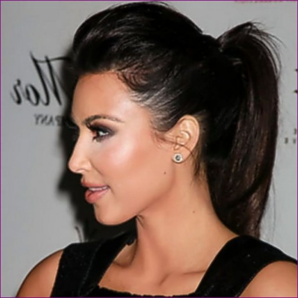 Black Long Ponytail Hairstyle For Women Style Pinterest