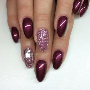 black cherry berry & silver mixed