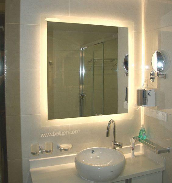 Exceptional Backlit Bathroom Mirror