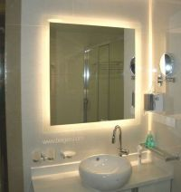Exceptional Backlit Bathroom Mirror | Bathroom remodel ...