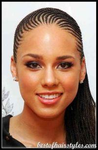 Alicia Keys braids... | HAIRSTYLES HERE | Pinterest ...
