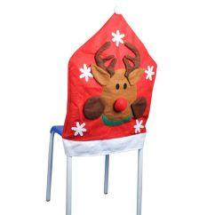 Christmas Chair Covers Pinterest Folding Kohls Cover Cartoon Reindeer Snowman Santa Claus