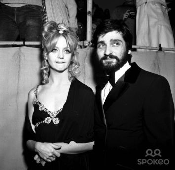 Image result for goldie hawn AND GUS TRIKONIS