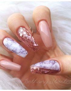 Pink And White Acrylic Nails Designs Valoblogi Com
