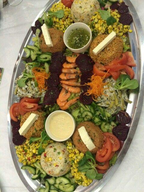 1 Gang Salat  Marokkanisches Hochzeitsessen  Moroccan Wedding  Pinterest  Salad and Food