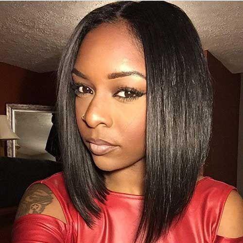 20 New Short Bob Haircuts For Black Women HAiR Pinterest