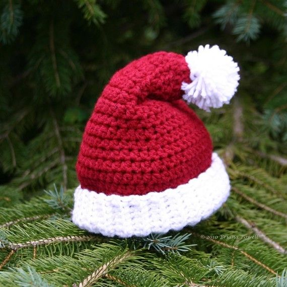 Knit Hat Christmas Tree