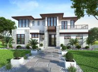 Plan 86033BW: Spacious, Upscale Contemporary with Multiple ...