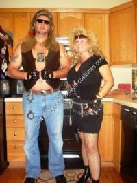 Coolest Homemade Dog the Bounty Hunter and Beth Halloween