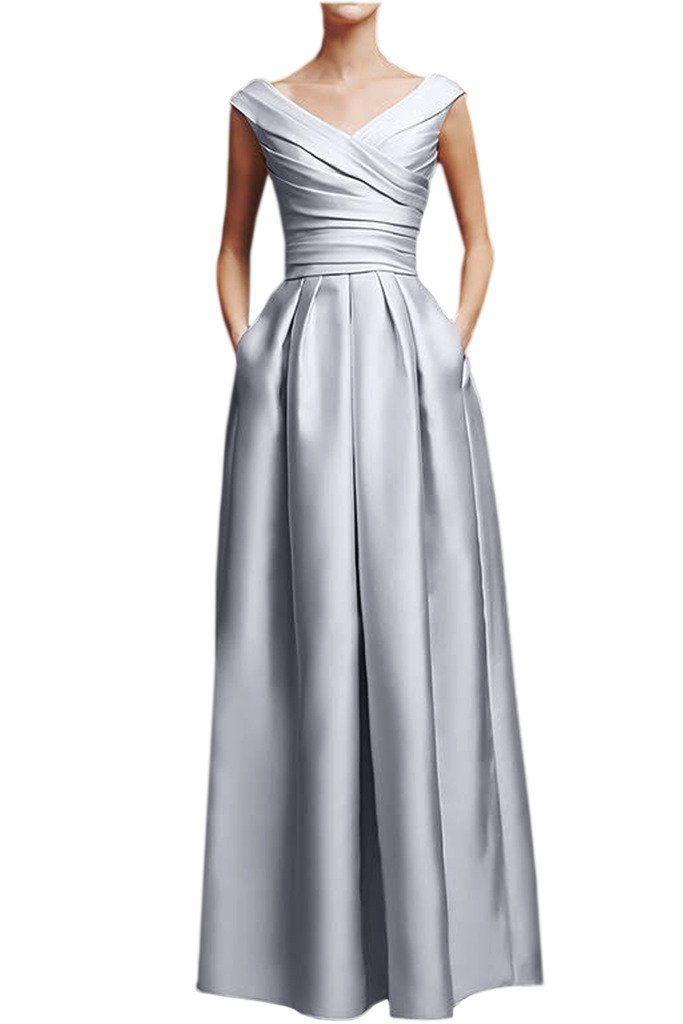 Victory Bridal Elegant Rosa Damen Abendkleider Festliche