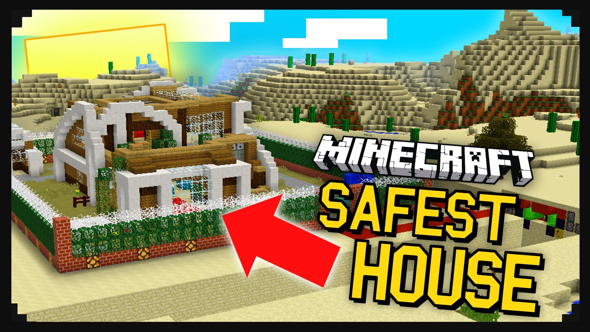 THE MOST SAFE HOUSE IN MINECRAFT 40 Different Security