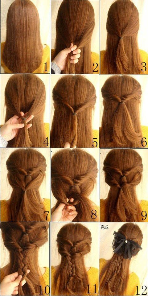 Step By Step Hairstyles To Do Yourself Google Search
