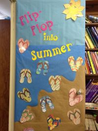 Summer bulletin board door | Crafts and Worksheets for ...
