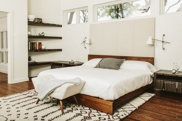 15 chic mid-century modern bedroom designs to throw you back in