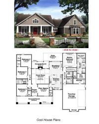 Bungalow Floor Plans on Pinterest | Vintage House Plans ...