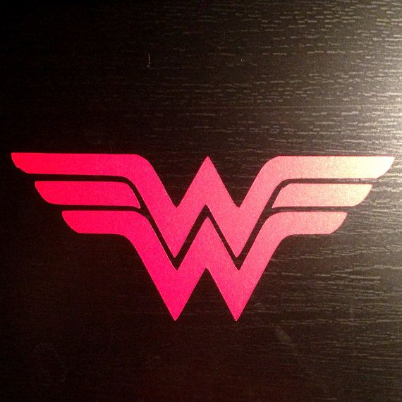 Wonder Woman Logo Car Decal What Is This Social Life