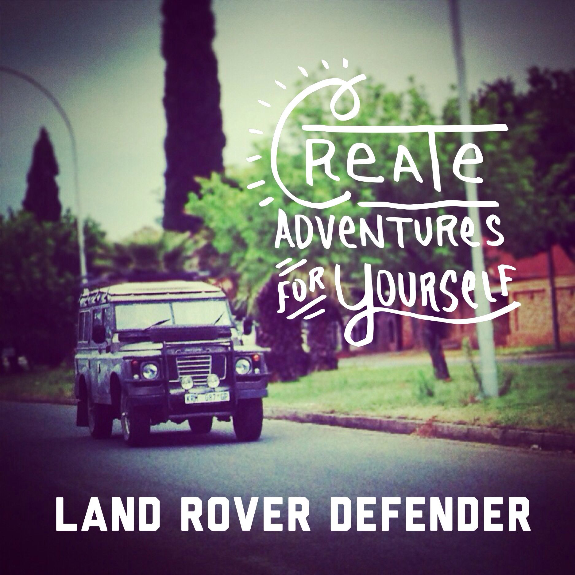 Land Rover Defender Create Your Own Adventure LandRover