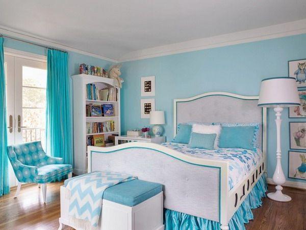 Delightful Light Blue Teenage Girls Bedroom Design Ideas  Sophias Bedroom Ideas  Pinterest