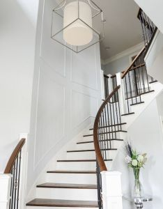 Explore stair design iron spindles and more also image result for mansions entrance hall wrought rail rh in pinterest