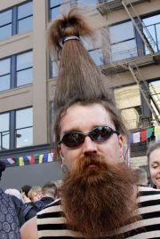 weird hairstyles men