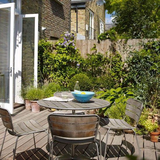 small garden terrace small garden design ideas garden designs - Garden Design Terraced House