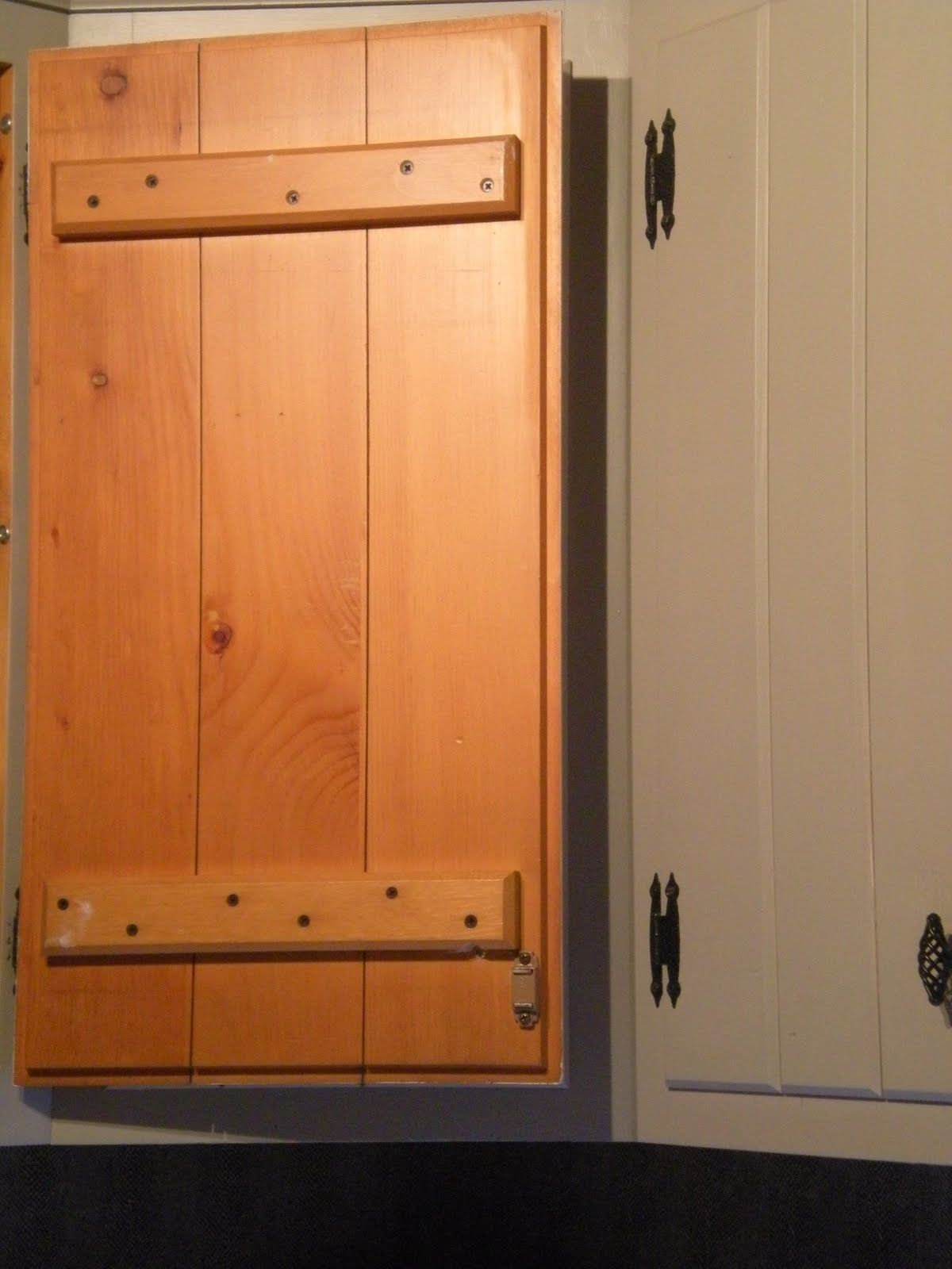 Painting Knotty Pine Kitchen cabinets